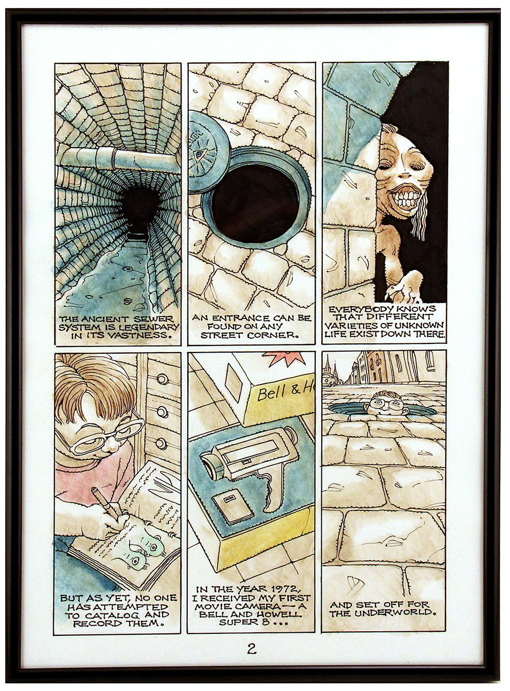 The Kid with a Movie Camera PAGE 2, Rick Geary