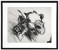New York Racing Association 3 (Pg 70 - 71), Bob Peak
