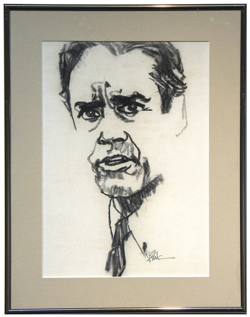 Portrait of Actor Henry Fonda, Bob Peak