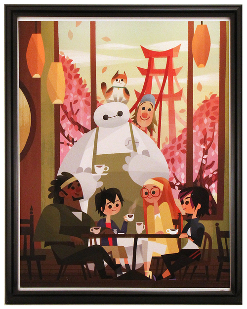 Big Hero 6, Joey Chou