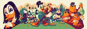CYCLOPS PRINT WORKS: Ducktales (Magica De Spell Edition) by Tom Whalen