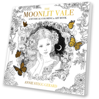 The Moonlit Vale: Art & Coloring Book, Annie Stegg