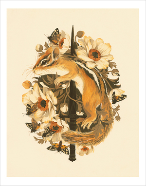 Rites of Moth & Bloom (Print), Teagan White