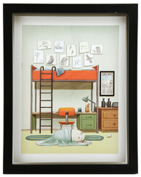 After the Fall Page 3 (FRAMED Print), Dan Santat