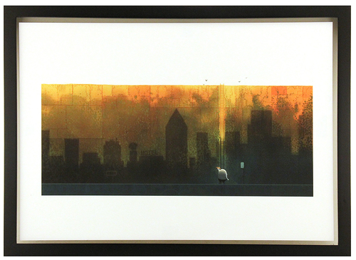 After the Fall Cover (FRAMED Print), Dan Santat