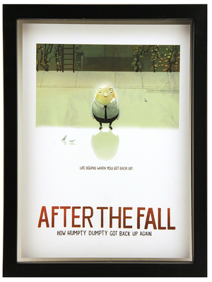 After the Fall Poster (FRAMED Print), Dan Santat