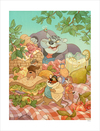 Picnic Surprise by Nicole Gustafsson (PRINT)