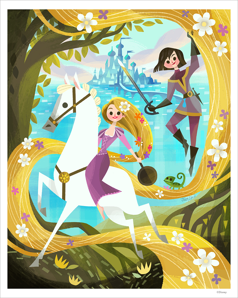 Tangled by Joey Chou (PRINT), Joey Chou
