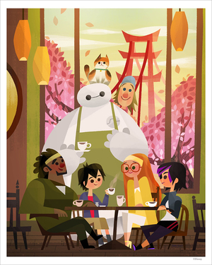 Big Hero 6 by Joey Chou (PRINT), Joey Chou