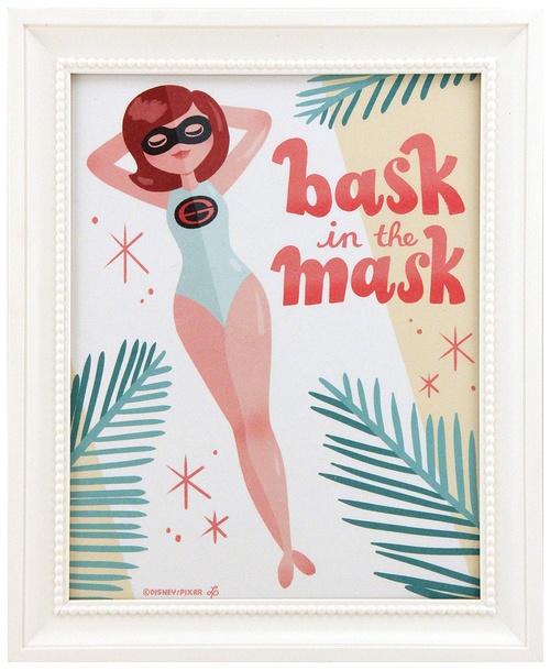 Bask In The Mask (1/1), Lauren Abhay