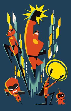 Cyclops Print Works Print #79: by Eric Tan