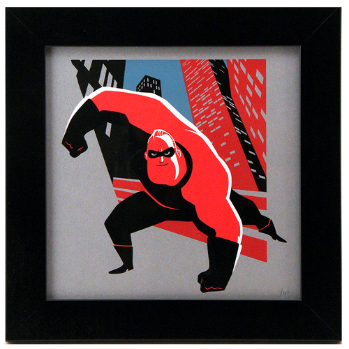 Cyclops Print Works Print #86: By Bryan Mon (FRAMED #1), Incredibles 2