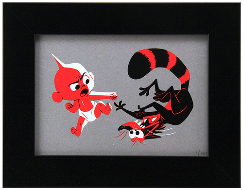 Cyclops Print Works Print #87: by Stéphane Kardos (FRAMED #1), Incredibles 2