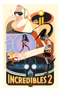 Incredibles 2 (print), Glen Brogan