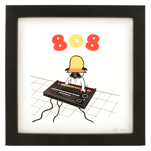 Pugcussion series: 808, Lili Chin