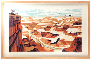 Grand Canyon Framed 1st Edition, Chris Turnham