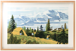 Denali Framed 1st Edition, Chris Turnham