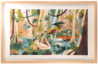 Everglades Framed 1st Edition, Chris Turnham