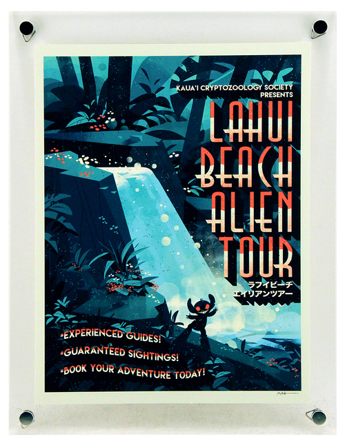 Lahui Beach Alien Tours (PP), Jessica Mao