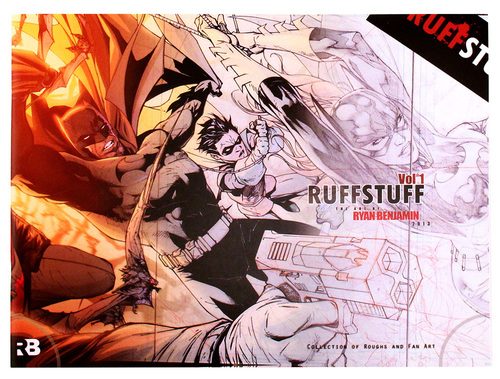 Ruff Stuff Vol. 1: The Art of Ryan Benjamin (2013), Ryan Benjamin