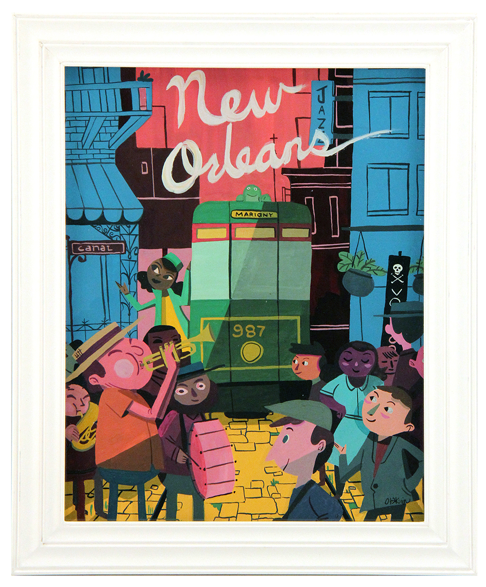 New Orleans, Oliver Akuin