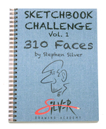Sketchbook Challenge Vol. 1 (310 Faces), Stephen  Silver