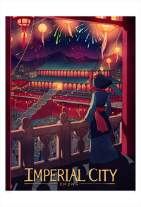 Imperial City (print), Kevin Hong