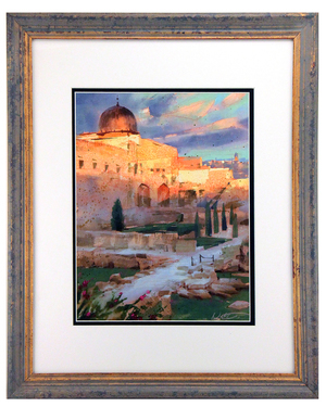 Jerusalem Sunset, Nathan Fowkes