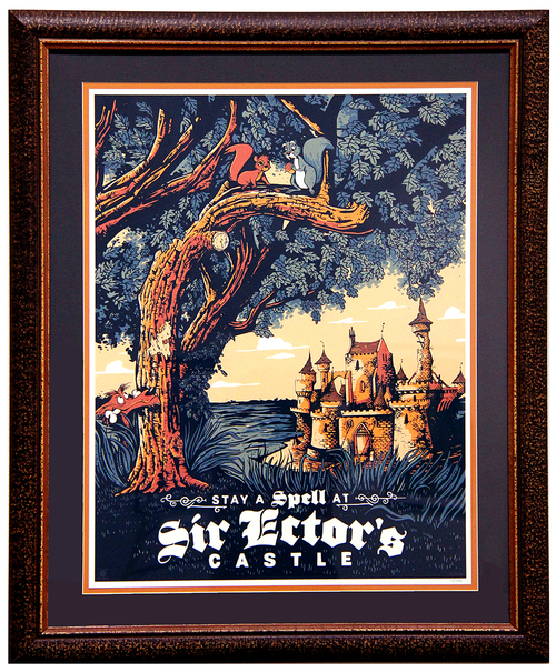 Cyclops Printworks: Sword in the Stone  (Framed #1), Adam Johnson