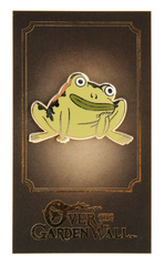 Over The Garden Wall (Greg's Frog) Enamel Pin