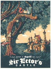 Cyclops Printworks: Sword in the Stone (Print), Adam Johnson