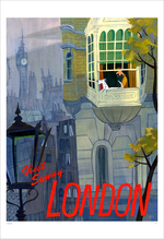 Visit Sunny London (print), Jennifer K Ely