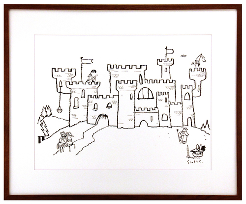 Adventures In Drawing (Grand Castle), scott c