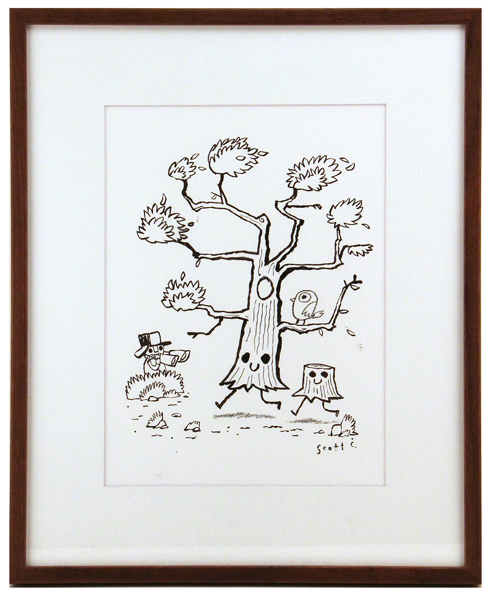 Adventures In Drawing (Happy Tree), scott c