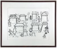 Adventures In Drawing (Town Market), scott c