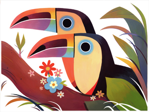 Toucans (print), Taylor Price
