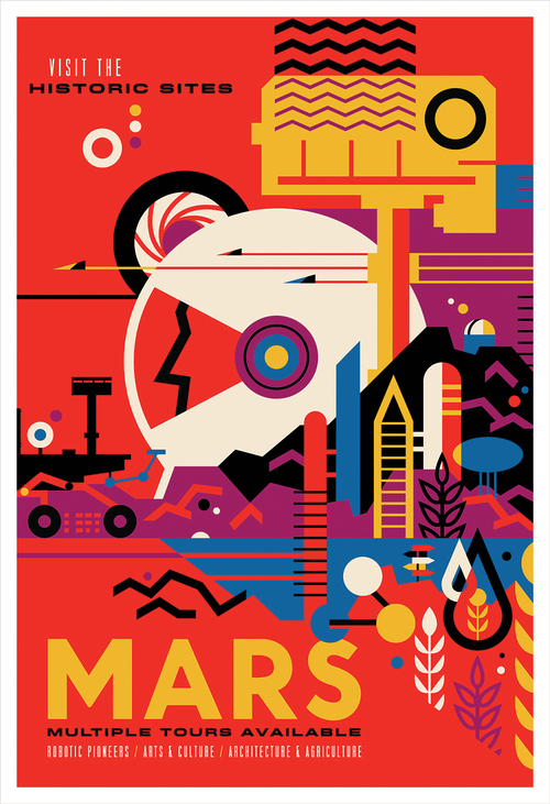Mars (print), Invisible Creature
