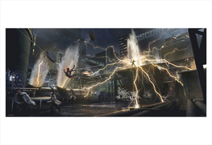 Marvel's Spider-Man: Electro Concept (print), Insomniac Games