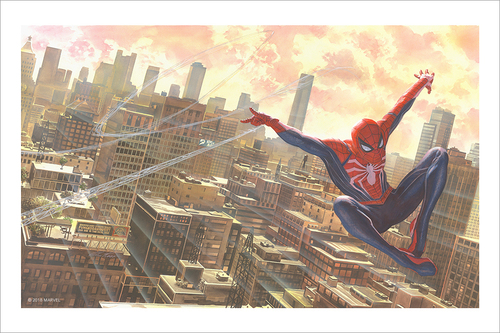 Marvel's Spider-Man: Alex Ross (print), Insomniac Games