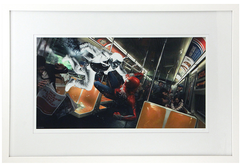Marvel's Spider-Man: Spider-Man vs. Mister Negative Subway Battle (FRAMED #1), Insomniac Games