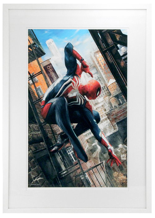 Marvel's Spider-Man: Alex Lozano  (FRAMED #1), Insomniac Games