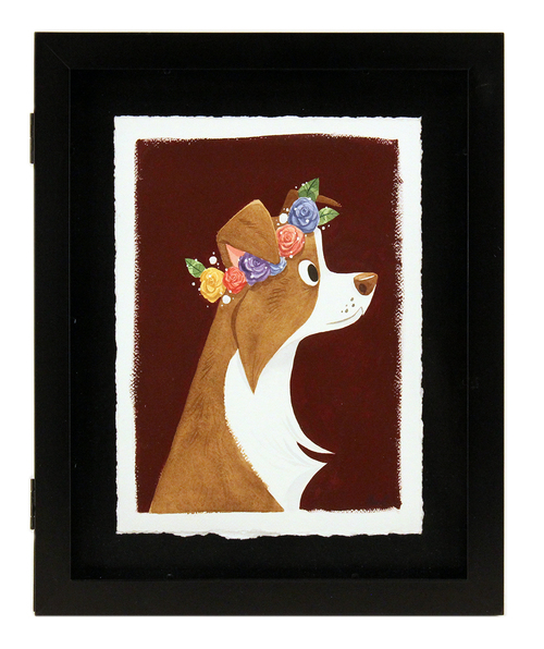 Red Border Collie, Elsa Chang