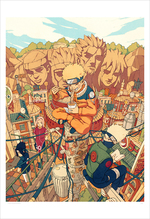 Hidden Leaf Village (print), Kevin Hong