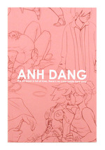 Anh Dang: This Art Book is Full of Lines, There's No Color Inside Here Sorry, Anh Dang