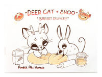 Deer Cat + Snoo: Bakery Delivery, Amber Aki Huang