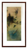 Boat on Water (FRAMED), Tyrus Wong