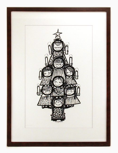 Christmas Tree, Mary Blair