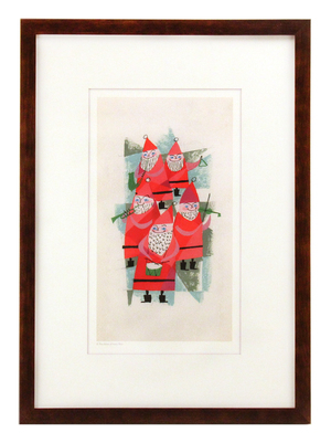 Santa Quintet, Mary Blair