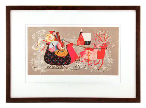 Sleigh Ride, Mary Blair