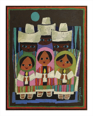 Children's Choir (print), Mary Blair